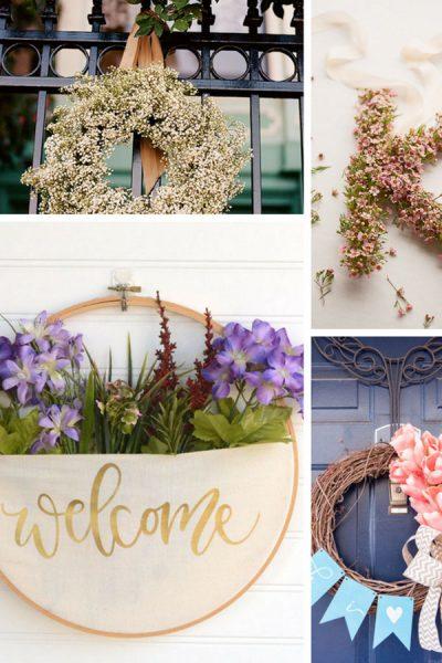 7 Ιδεες με Φρεσκα Λουλουδια Για Να Φτιαξεις Στεφανι Πρωτομαγιας