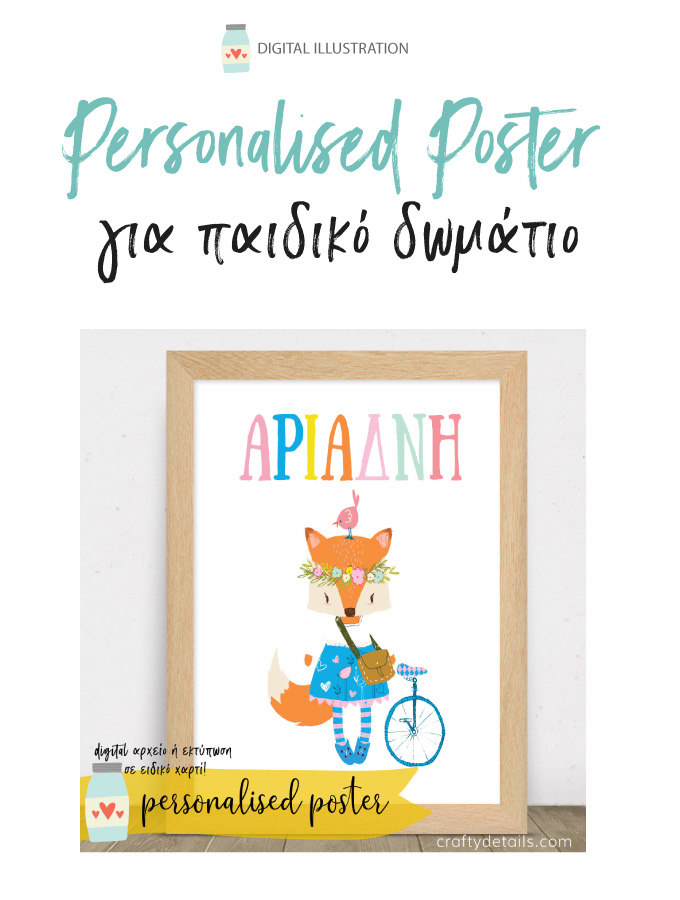 Personalised paidika poster