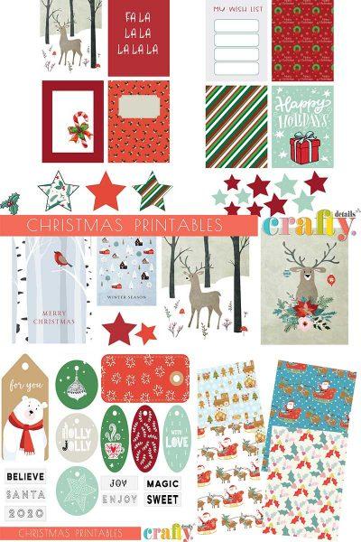 Χριστουγεννιάτικα εκτυπώσιμα – December Daily & άλλα paper crafts!
